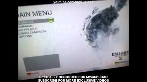 Call of Duty Black Ops 2 Menue Leaked