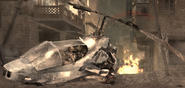 Pelayo's crashed AH-1 Cobra Shock and Awe COD4