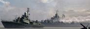 Slava-class Cruiser and Nanuchka-class Corvette MW3