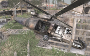 Crashed UH-60 Heat COD4