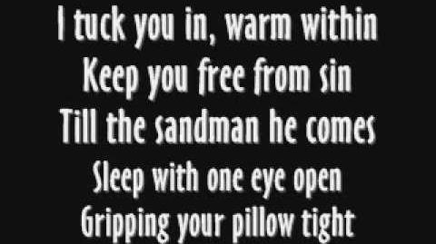 Metallica-Enter Sandman Lyrics