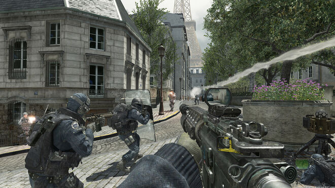 MW3 Resistance M4A1 RDS Silenced