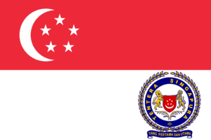 Singapore Armed Forces flag