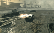 Abrams deploying smoke goalpost MW3