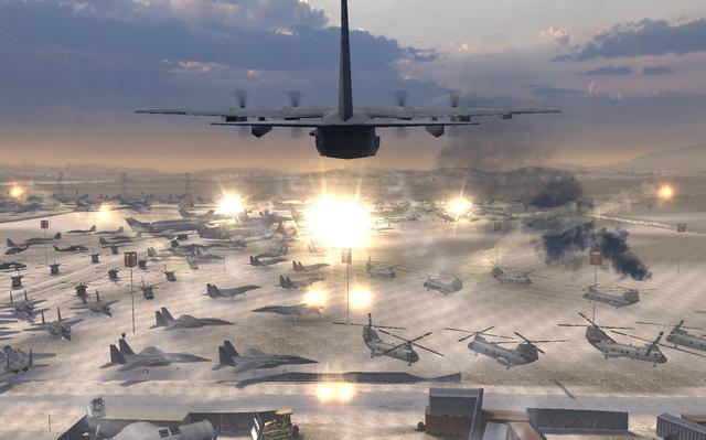 File:C-130 Dumping flares.png