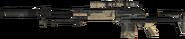 M14 EBR Silencer 3rd Person MW3