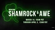 Shamrock & Awe Promo MWR