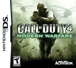 CoD4 Modern Warfare DS cover