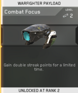 Combat Focus Unlock Card IW