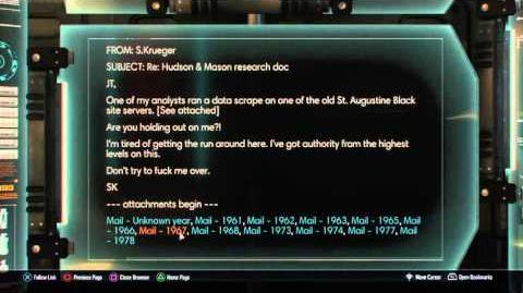 Call of duty black ops 3 Mason Woods Weaver and Hudson Easter Egg