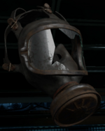Broken Respirator collectible BO3