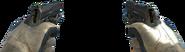 USP .45 Akimbo MW3