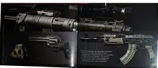 MW2 Art Book Weapons 1
