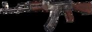 AK-47 Nickel Plated MWR