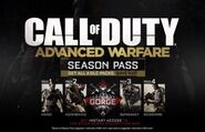 Call of Duty- Advanced Warfare Season Pass poster