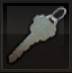Warden's Key inventory icon BOII
