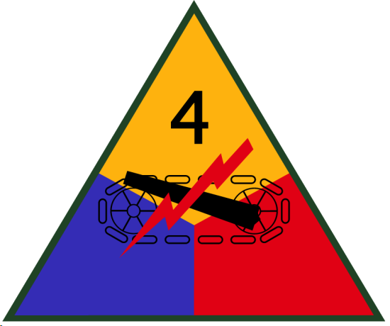 File:American 4th Armored Division Insignia.png