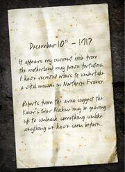 Nikolai Belinski letter Origins BOII