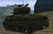 M4 Sherman rear view UO