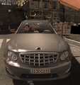 Volk getting away in car.png