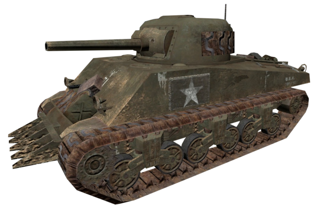 File:M4 Sherman CoD2.png