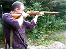Mosin Nagant Shooting