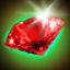 Christmas Red quartz