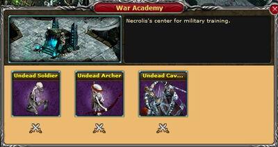 Undead Necrolis WarAcademy