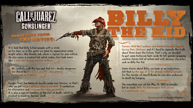 Billy the Kid Concept Art