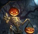 Тыквоголовый скелет