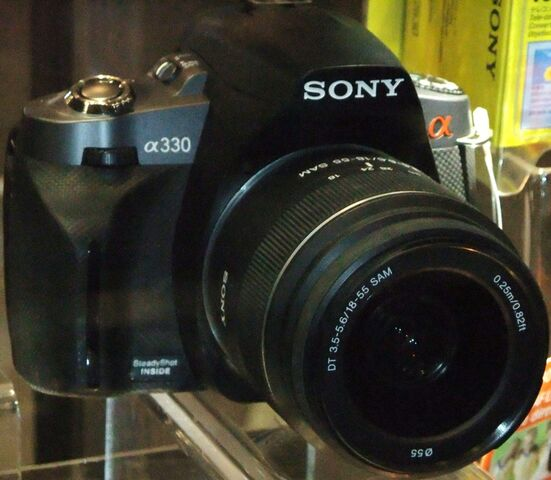 File:Sony Alpha A330.jpg