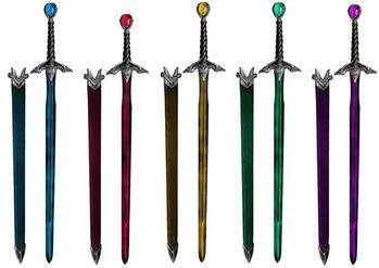 Riders swords