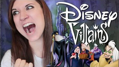 Allie Norvelt Disney Villains Impressions