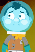 Space Kid Frown