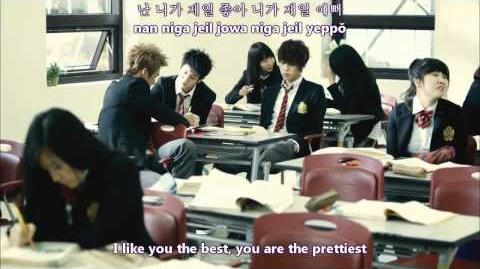 Beast - I like you the best MV english subs romanization hangul