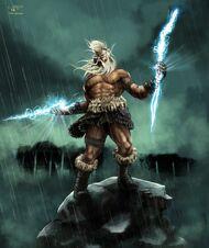 Zeus angry