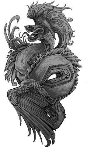 File:Quetzalcoatl grayscale.jpg