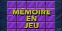 Mémoire en Jeu