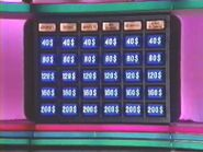 Québec Double Jeopardy Board