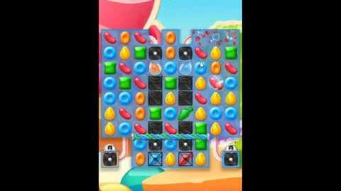 Candy Crush Jelly Saga Level 205 - NO BOOSTERS