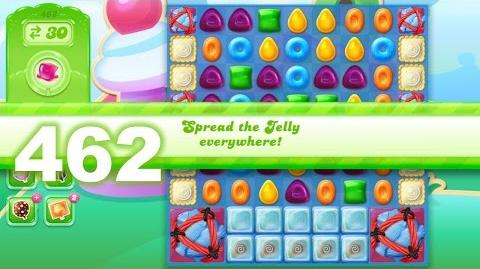 Candy Crush Jelly Saga Level 462 (3 star, No boosters)
