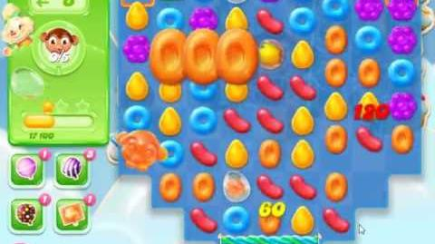 Candy Crush Jelly Saga Level 595 - NO BOOSTERS