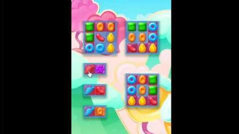 Candy Crush Jelly Saga Level 3 No Boosters