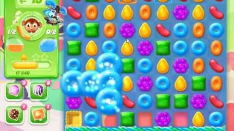 Candy Crush Jelly Saga Level 372 - NO BOOSTERS