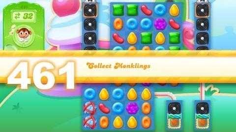 Candy Crush Jelly Saga Level 461 (No boosters)