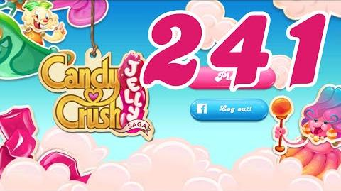 Candy Crush Jelly Saga Level 241 No Boosters