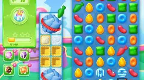 Candy Crush Jelly Saga Level 463 - NO BOOSTERS