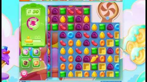 Candy Crush Jelly Saga Level 458 No Booster 3 Stars (Ver
