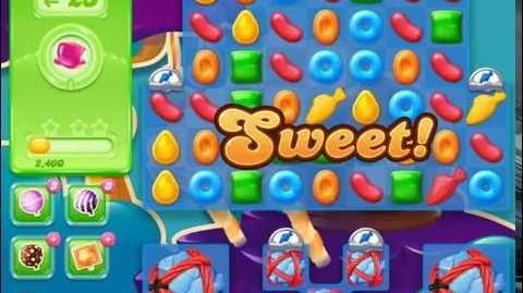 Candy Crush Jelly Saga Level 422 (3 star, No boosters)