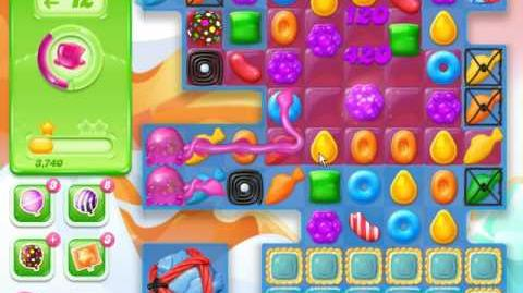 Candy Crush Jelly Saga Level 724 (No boosters)